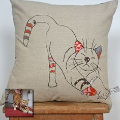What I Always Wanted | Cushion cover personalised with an image of your own dog or cat