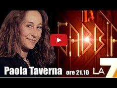 """Paola Taverna (M5S): La gabbia """"Letta non pervenuto, Napolitano troppo pervenuto"""""""
