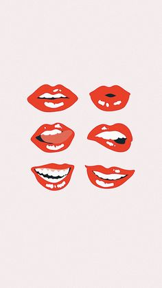 Lips art _ lippen kunst _ art des lèvres _ arte d Collage Mural, Bedroom Wall Collage, Photo Wall Collage, Wall Art Collages, Collage Maker, Photo Canvas, College Wall Art, College Walls, Dorm Walls