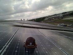 Waco TX comm solar install