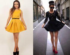 Looks & Curiosidades: Moda:Skater Dress