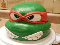 For Ken Ninja Turtle Cake Designs Ninja Turtle Party, Ninja Turtles, Ninja Turtle Birthday Cake, Ninja Turtle Pizza, Turtle Birthday Parties, Birthday Ideas, Geek Birthday, Tmnt Cake, Lego Cake