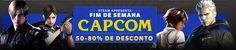 Fim de semana Capcom: games da produtora com descontos de até 80% no Steam - http://showmetech.band.uol.com.br/fim-de-semana-capcom-games-da-produtora-com-descontos-de-ate-80-steam/