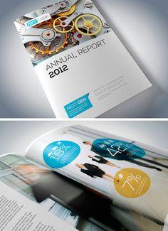 50 (More) Fantastic #Printed #Brochure #Designs – Part II  http://www.hongkiat.com/blog/handpicked-printed-brochures-part2/