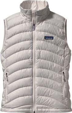 Women's Patagonia Down Sweater Vest 84627 - Birch White Sweater Vests - $150.00