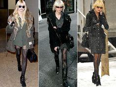 Yep, I love Taylor Momsen's style.. há!
