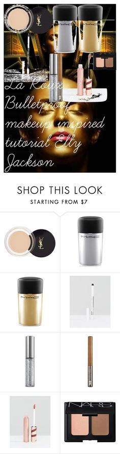 """""""La Roux Bulletproof makeup inspired tutorial Elly Jackson"""" by oroartye-1 on Polyvore featuring beauty, Yves Saint Laurent, MAC Cosmetics, NYX, Urban Decay, L'Oréal Paris and NARS Cosmetics"""