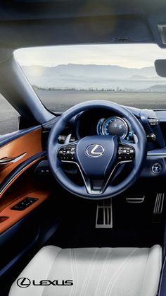 Sit down and power up. The 2018 #LexusLC Hybrid. See for yourself.