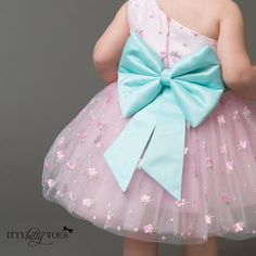 Pink Angelina Dress - Couture - Itty Bitty Toes