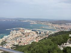Gibraltar - view Port and La Linea Grand Canyon, Nature, Travel, Landscapes, City, Naturaleza, Viajes, Destinations, Grand Canyon National Park