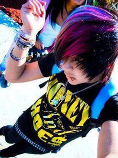 Rainbow hair HOT