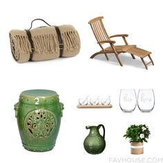 Decorating Mix And Match Featuring Tweedmill Blanket Teak Patio Chair Outdoor Stools And Dinner Dishe From August 2015 #home #decor
