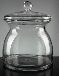 Apothecary Jar - love the shape of this. And the site has tons of crafting stuff and discounted prices!!