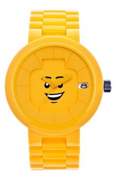 LEGO® 'Happiness' Bracelet Watch, 42mm available at #Nordstrom
