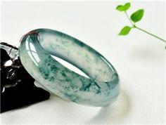 Glassy Jadeite Bangles