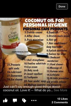 Spectrum isn't a very good quality Coconut Oil, but this is good info.