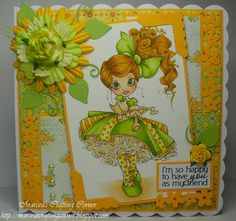 Saturated Canary Jules - MCC by marcea - Cards and Paper Crafts at Splitcoaststampers