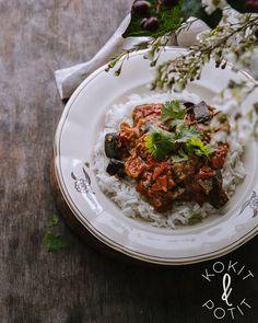 Kokit ja Potit -ruokablogi Halloumi, Garam Masala, Curry, Veggies, Vegetarian, Pasta, Dishes, Food Food, Ethnic Recipes