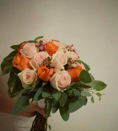 Wedding bouquet #whiteroses #weddingtime #wedding