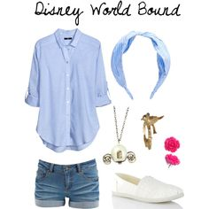 DWB - A comfortable Disney World outfit inspired by Cinderella