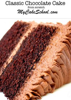 We love this delicious chocolate cake recipe!