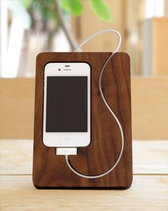 Iphone Wooden BaseStation