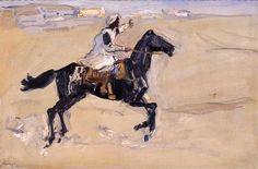 Araber zu Pferde; 1914; Max Slevogt