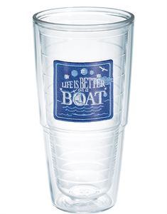 New Arrivals Life is Better on a Boat Life is Better on a Boat Tumblers, Mugs, Cups Tervis Pontoon Party, Pontoon Boating, Boating Fun, Houseboat Decor, Boat Safety, Boat Insurance, Best Boats, Tervis Tumbler, Boat Accessories
