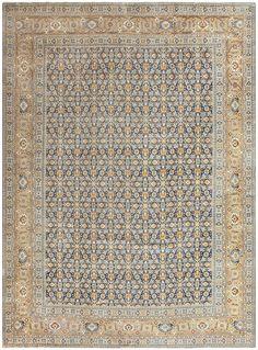 Room Size Antique Persian Tabriz Rug 50580