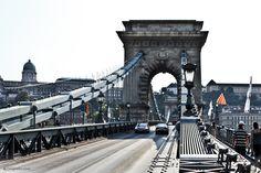 Chain Bridge connecting Buda with Pest