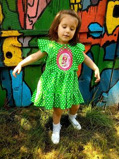 I believe I can sew...: Polka dots and strawberry girl - little miss fairy wings dress