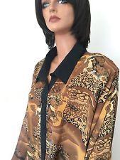 Dalin Collection Plus Size 3X Women Tunic Leopard Designer Fashion