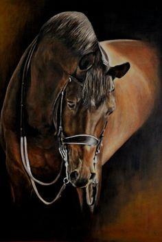 Najlepsze Obrazy Na Tablicy Horse Oil Painting 176 W
