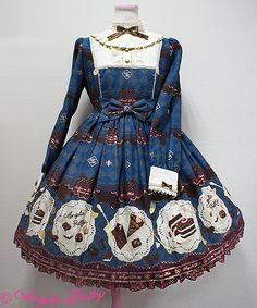 Angelic Pretty | Antique Chocolaterie OP