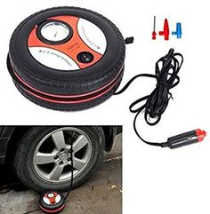 """Features & Benefits"" 260PSI DC12V Portable Mini Air Compressor Auto Pump Car Sport Tyre Tire Inflator by ShopIdea"