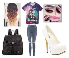 """""""Fulfill you're destiny"""" by mylittlepokemon on Polyvore featuring Topshop, Michael Antonio and Proenza Schouler"""
