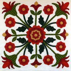 Sue Garman bed of roses