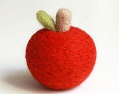 Ago infeltrito Apple giocattolo per Kid Home di emhocollections