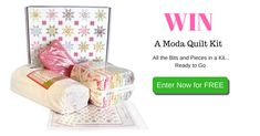 Here's a chance to win a Moda Quilt Kit!  Entries close 30th April midnight AEST. Click Here and Enter for Free to Win. http://upvir.al/ref/xe12461904