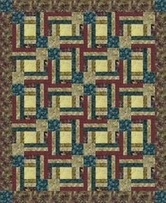 Hoffman Free Quilt Pattern - Mulberry Steps Pattern