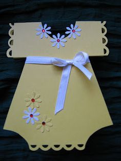 Quilling Ideas: Onesie card