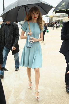 Heading to the Elie Saab show in Paris.   - ELLE.com