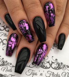 STILISH Black - Purple