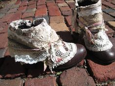 Totally doing this to the next pair of cheap secondhand boots I buy.