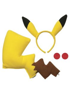 Pokemon Pikachu Costume Kit - Costume Accessories for 2018 | Wholesale Halloween Costumes