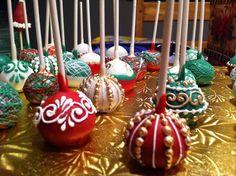 Christmas Cake Pops                                                                                                                                                                                 More