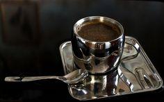 ♥ my coffee-metal cup II