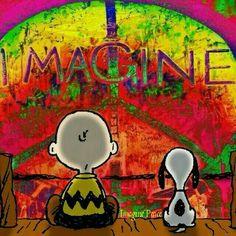 Charlie Brown&Snoopy☮