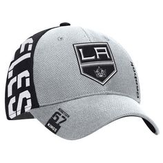 buy popular e626e 93f72 Los Angeles Kings Reebok 2016 NHL Draft Structured Flex Hat - Gray Black