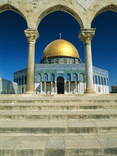 size: Photographic Print: The Dome of the Rock, Temple Mount Poster by Sylvain Grandadam : Artists Islamic Architecture, Art And Architecture, Old City Jerusalem, Dome Of The Rock, Temple Mount, City Photography, Architect Design, Islamic Art, Middle East